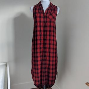 Mossimo Buffalo Plaid Button-Up Dress